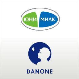 """Danone"" и ""Юнимилк"" объединяют молочный бизнес"
