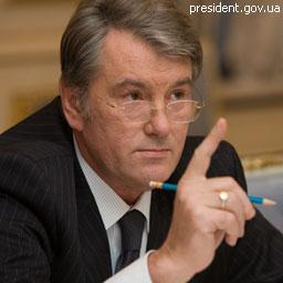 Ющенко не даст Тимошенко миллиард на борьбу с гриппом