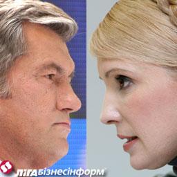 Тимошенко в суді відмовилася ставити питання Ющенку