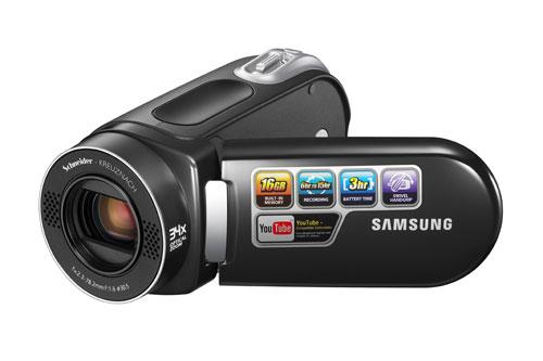"""Samsung"" представил компактную флеш-видеокамеру"