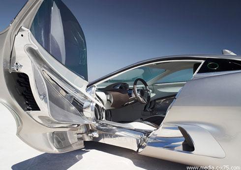 """Jaguar"" представил супер-мощный электрокар С-X75"
